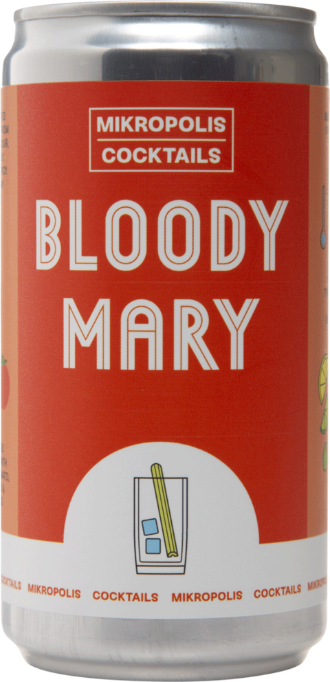 Bloody Mary Mikropolis Cocktails